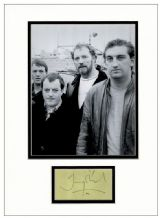 Jimmy Nail Autograph Signed Display - Auf Wiedersehen, Pet